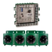 CB-PRO control box with speakers