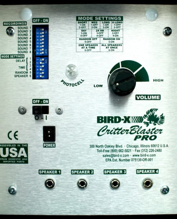 Critter Blaster Pro Bird X