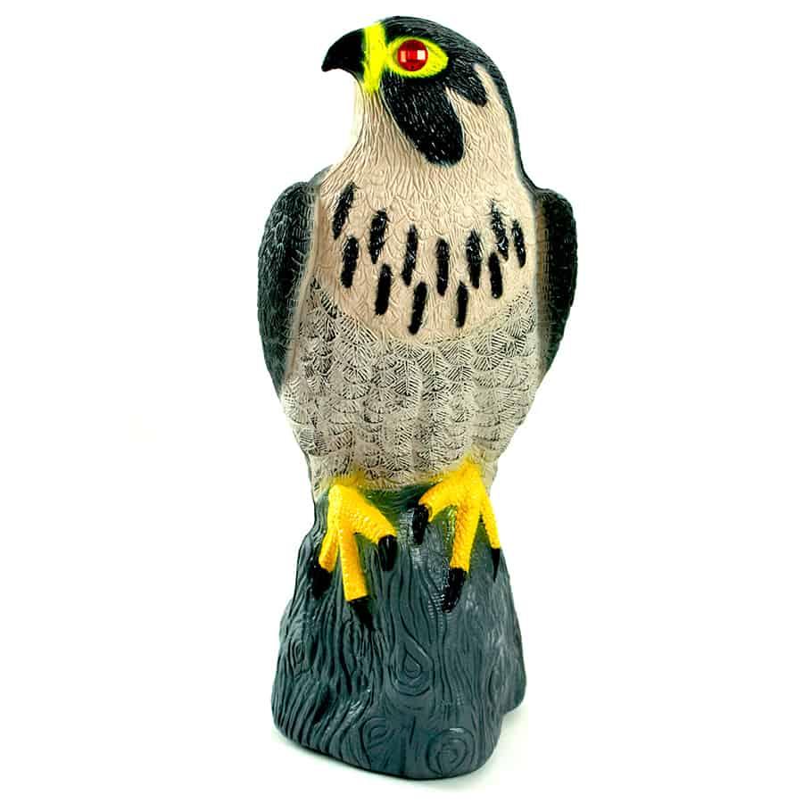 falcon predator decoy side