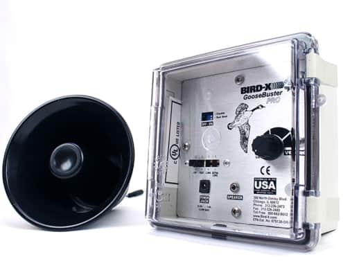 goosebuster pro single speaker unit