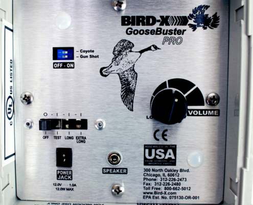 Goose Buster Sonic Goose Repellent System By Bird X
