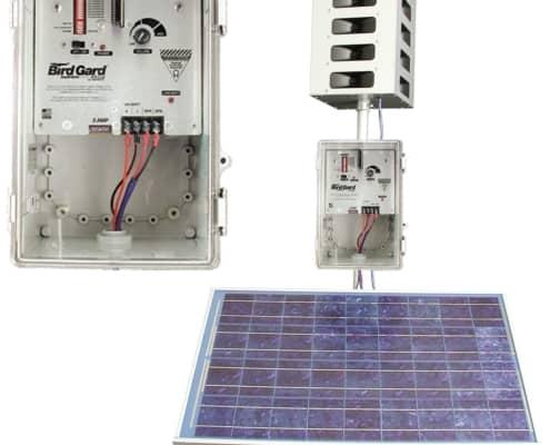 mega blaster pro with solar panel