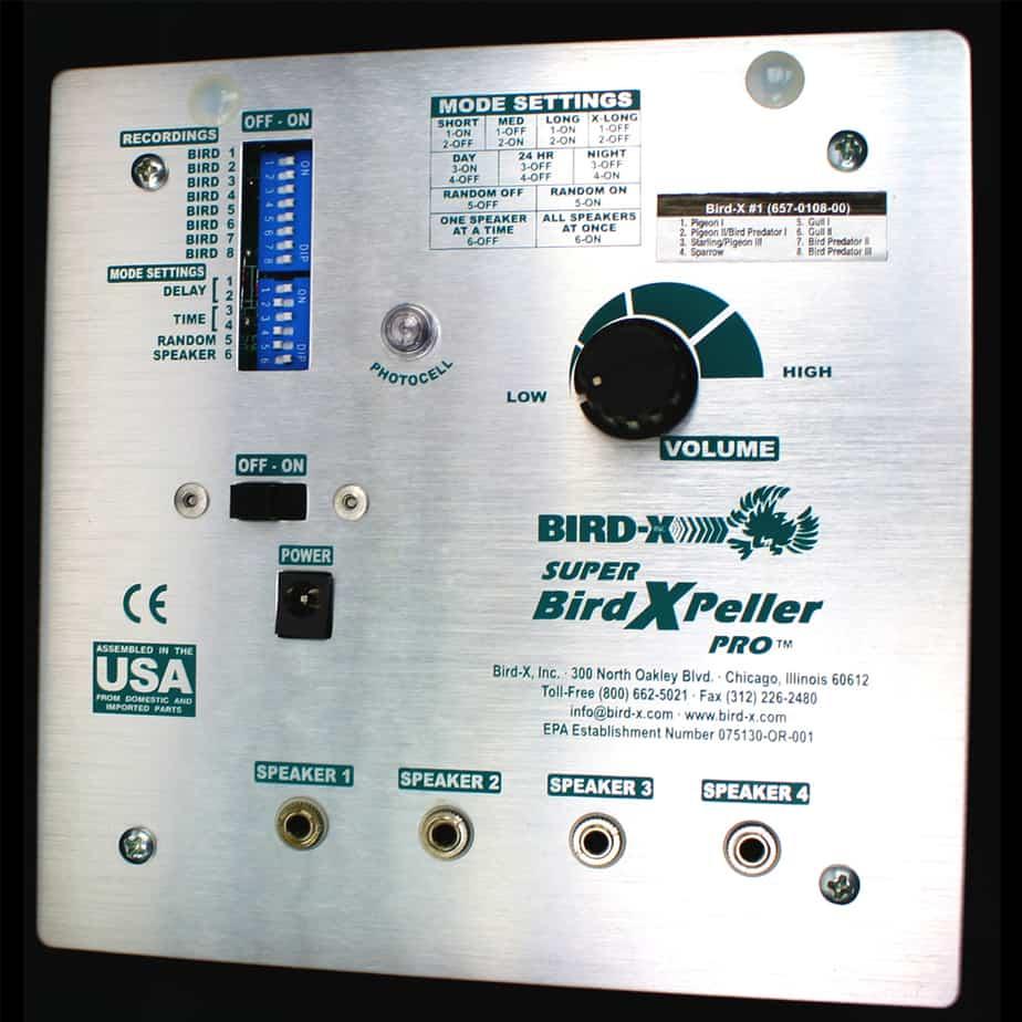 SBXP-PRO control unit close-up