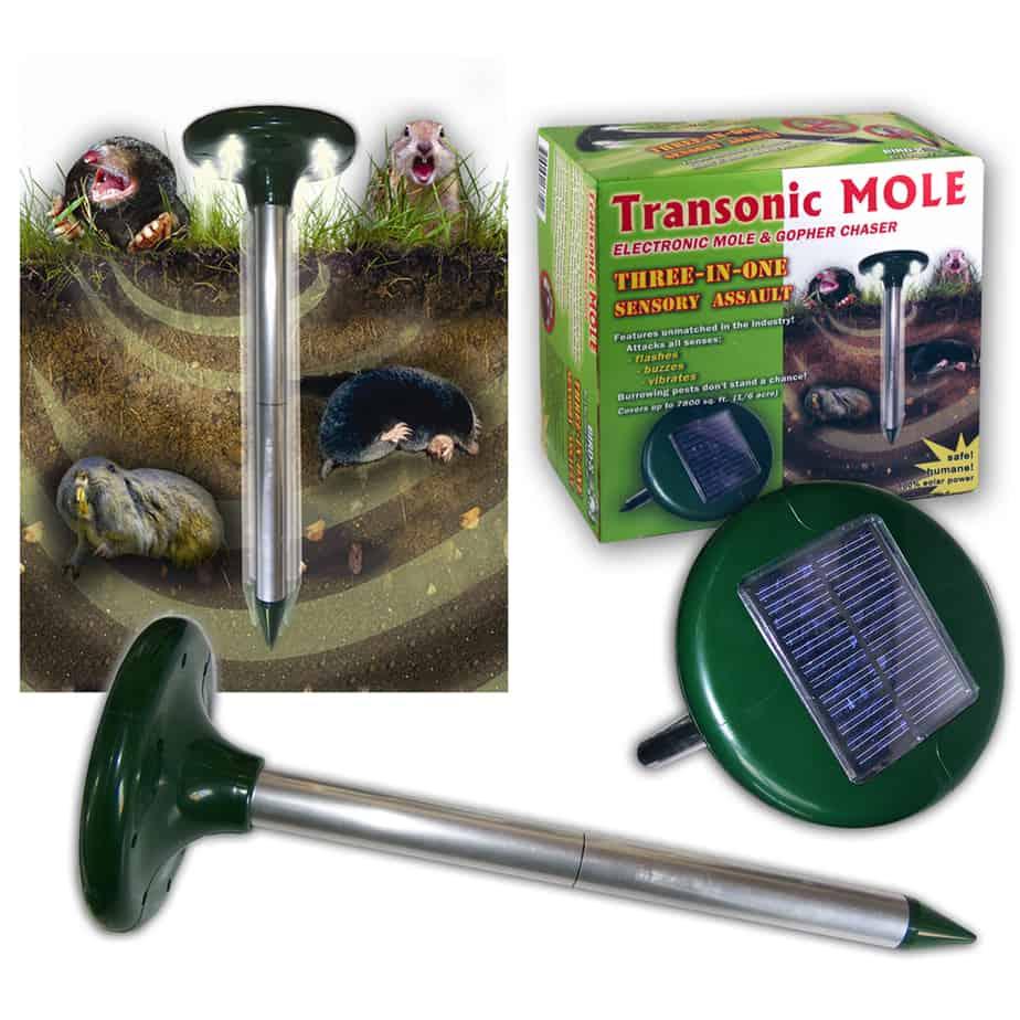 Mole Deterrent Device | Solar Powered for Outdoors | Bird-X