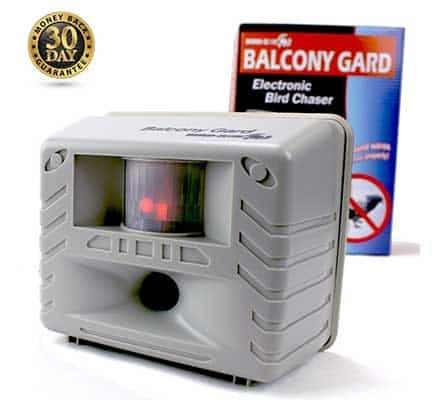 Balcony Gard Ultrasonic Bird Repellent Sounds