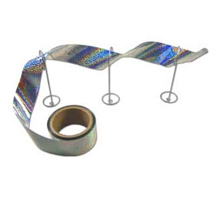 Irri Tape Holographic bird tape flashes light