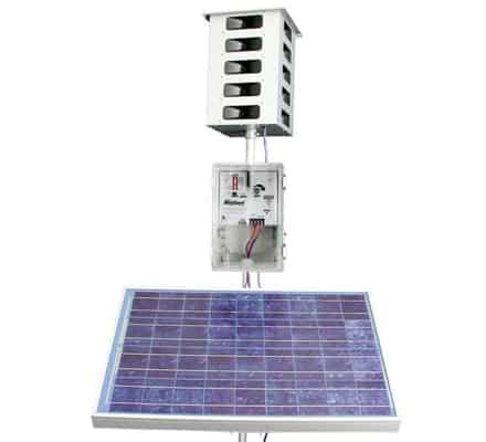 mega blaster with solar panel