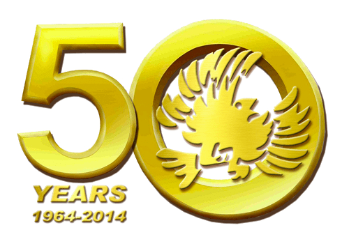 50 years badge