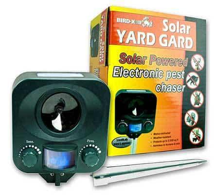 solar yard guard