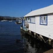 waterfront dock